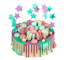 торт Звездный фейерверк