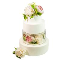 торт Пионы и розы