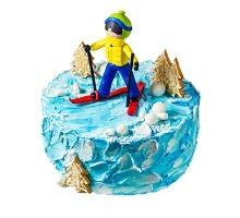 торт Лыжник