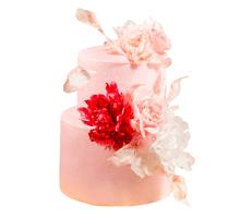 торт Цветочный этюд