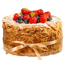 торт Наполеон с вишней1,8 кг