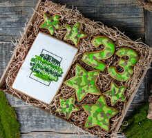 торт Набор печенья День защитника Отечества (большой)