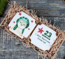торт Набор печенье – 23 февраля (средний)