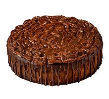 торт Пирог Брауни с орехами Пекан