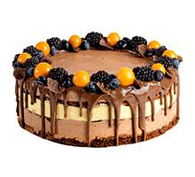 торт Шоколад & Маракуйя