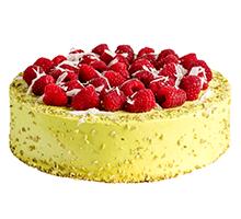 торт Фисташковый торт с Малиной и голубикой1,85 кг