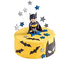торт Бэтмен – супер герой