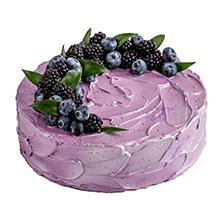 торт Черничное настроение