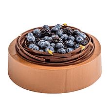 торт Голубика в шоколаде