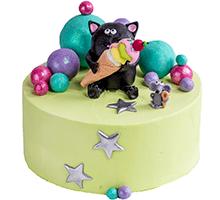 торт Кот и мышь