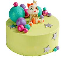 торт Кот в стране чудес