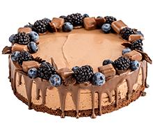 торт Шоколадно-карамельный