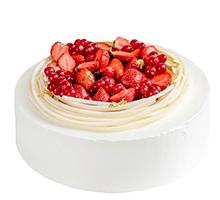 торт Ваниль и ягоды