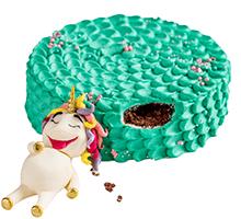 торт Единорог-сладкоежка