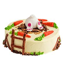 торт Зайка и морковка