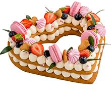 торт Нежное сердце 0,8 кг