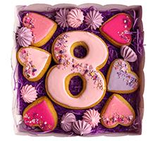 """торт Набор """"С 8 Марта с сердцами"""""""