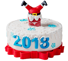 торт Веселый 2018