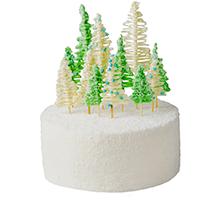 торт Зимний лес