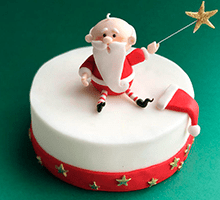 торт Санта (белый)