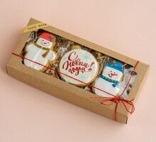 торт Набор  Печенье – Весёлые  снеговики (2 набора)