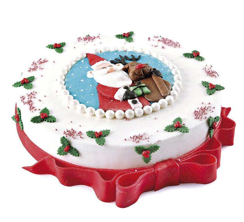 торт Веселый Санта