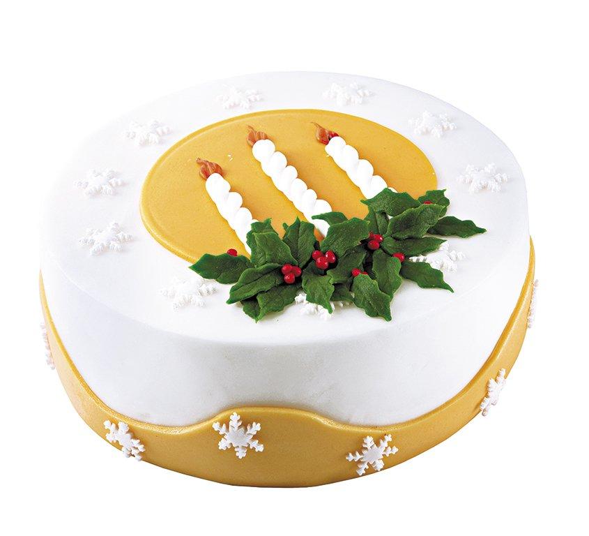 торт Дух рождества