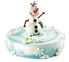 торт Снеговичок