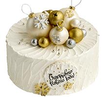 торт Счастливого Нового года