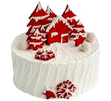 торт Красная зима
