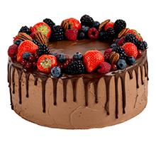 торт Шоколадно-ягодный микс