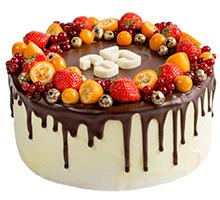торт Ягодная фантазия