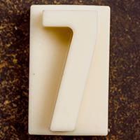 торт Шоколадная цифра 7 (белый шоколад)