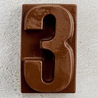 торт Шоколадная цифра 3