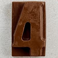 торт Шоколадная цифра 4