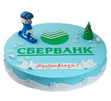 торт Сбербанк