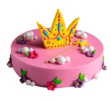 торт Корона принцессы