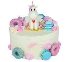 торт Единорог и сладости