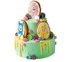 торт Сладкие приключения