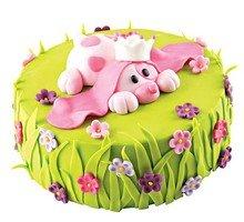 торт Розовый щенок