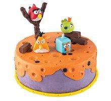 торт Злые птички 1