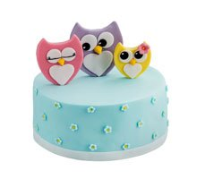 торт Семейство сов