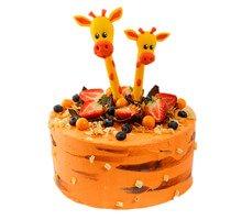 торт Парочка жирафов