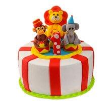 торт Весёлый цирк