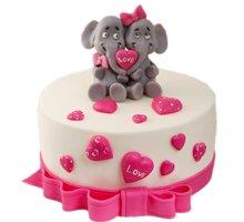 торт Слонята