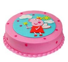 торт Свинка волшебница