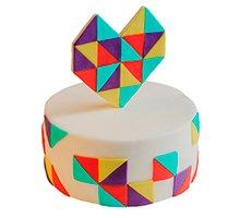 торт Геометрия любви