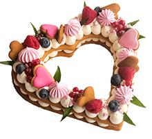 торт Нежное сердце0,8 кг