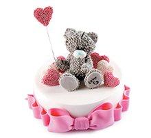 торт Мишка романтик