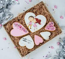 торт Набор печенья Моё сердце в твоих руках (большой)